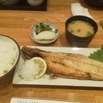 38236381 - 焼き魚定食 鯖塩 850円