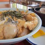 厚岸海産 - かき丼(1,000円)