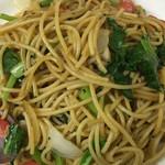 スパゲティ マルス - 香ばしくて美味しいです。