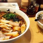 たいち - 生姜醤油チャーシューと塩ラーメン