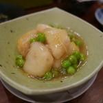 よし田 - 山芋とグリーンピース