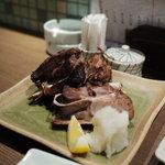 魚豊 - 鮪カマ塩焼き
