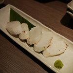 魚豊 - 網焼き長芋