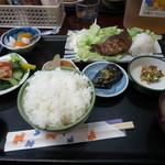 たつの子 - まぐろほほ塩焼定食(\700)