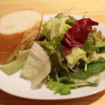 Ricco - Lunch バケットとサラダ