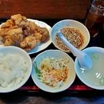 38242380 - 若鶏の唐揚げランチ(780円+税)