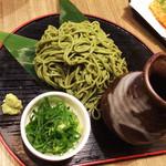 獅子亭 - 茶そば