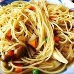 来夢来人 - 料理写真:和風きのこスパゲティ