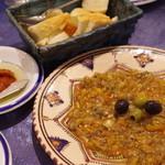 ハンニバル - サラダメシュイ(焼き野菜のペーストサラダ)
