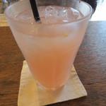 チムニー - 混ぜると桜色に。