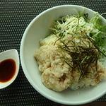 38247548 - 昆布塩ザンギ丼 1000円