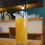 ルナ カフェ - オレンジジュース
