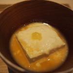 茶洒 金田中 - やわら奴   絹ごし豆腐 おぼろ豆腐