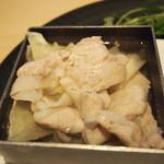 茶洒 金田中 - 三元豚しゃぶ 胡麻ポン酢