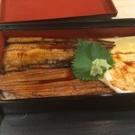 魚喰食堂 ときしらず - 活〆穴子と山の芋とろろめしアップ