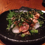 炭火焼Dining 門 - ササミ〜( ^ω.^ )/タタキ