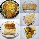 タコ ベル - タコライスのご飯はメキシカンライス/