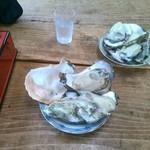 38252228 - 岩牡蠣の大を頼んだら大がなくなったので2つにしてくれた