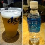 タコ ベル - ビール/アミーゴセットのお水