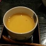 38252951 - 青椒肉絲の茶碗蒸し