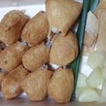 38252979 - 土産の稲荷寿司