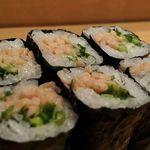 鮨処 竜敏 - 納豆巻き
