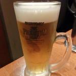 月島 在市 - 生ビール
