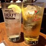 アガリコ マサール - レモンサワーとハイボールで乾杯