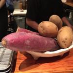 38256201 - 綺麗なサツマイモとジャガジャガ☆
