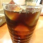 ムーミンハウスカフェ - アイスコーヒー