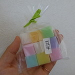 吉はし菓子店 - 寒氷(かんごおり)(9個入り300円)
