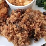 cafe たべりーね - ご飯は醗酵玄米ですよ