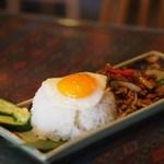タイ・アヨタヤ・レストラン - ガパオ(ランチ)
