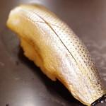 九段下 寿司政 - 小鰭