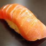九段下 寿司政 - 鮪トロ