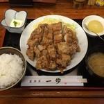 38262348 - 信州松本山賊焼定食、950円