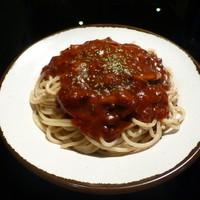 スパゲティ屋くぼやん - デミグラス風のマイルドなミートソース