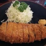 とんかつ 力亭 - ロースカツ定食