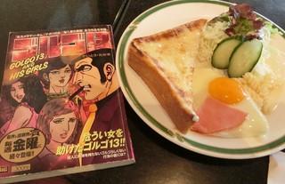 カフェレスト木鶏 - お店に有ったコミック、、、懐かしいゴルゴ13、、、