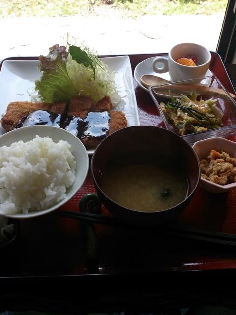 田の神さぁ - ランチ 味噌カツ1000円