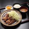 Gozaishosabisueriakudarisentontonshokudou - 料理写真:とんてき定食 オリジナルソースが決め手です