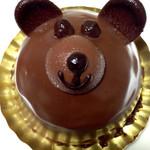 38265847 - くまさんのチョコケーキ 380円 (2015.05現在)
