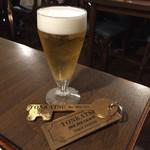38266863 - 生グラスビール、LINE友達追加でワンドリンクサービス