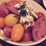 銀座フォワグラ - 数種の彩りトマトサラダ