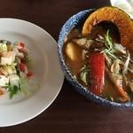 野菜料理とスープカレーのお店 南葉亭 - このボリュームで!小食セット…