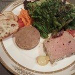 プルミエ - 鴨のリエットと肉のテリーヌ