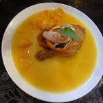 燻香廊 - スモークチキンとベーコンのオレンヂソース煮