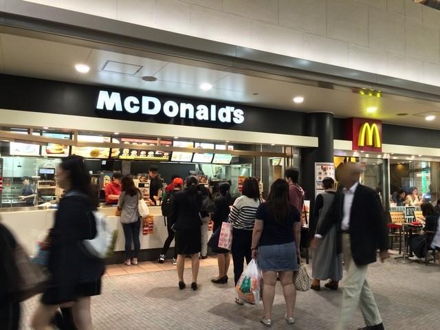 品川 駅 マクドナルド