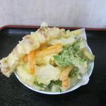 不動 - 「天ぷら」です。