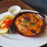 レッドロブスター - ロブスターソースのドリアとグリル野菜